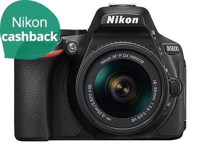 Nikon D5600 Kit AF-P 18-55mm VR - Μαύρο