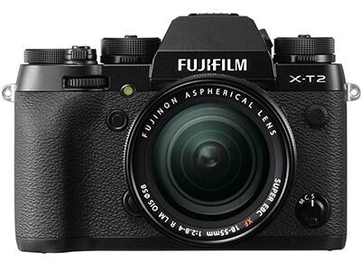 Mirrorless Φωτογραφική Fujifilm X-T2 18-55mm Μαύρο φωτογραφία   βίντεο   mirrorless