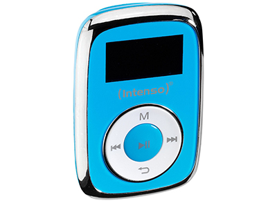 MP3 Player - Intenso 3614564 Music Mover 8GB - Μπλε