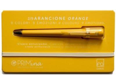 Στυλό Γραφίδα Χωρίς Μελάνι Napkin - Primina Orange - Ασημί