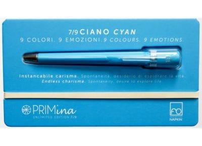 Στυλό Γραφίδα Χωρίς Μελάνι Napkin - Primina Light Blue - Ασημί