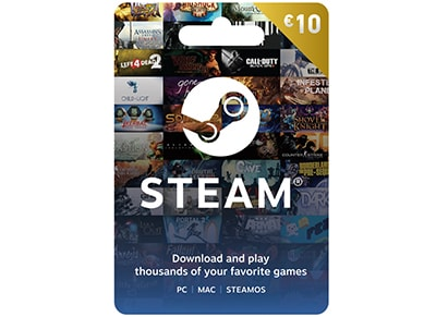 Steam Card 10€ - Prepaid Card