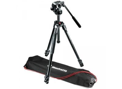 Τρίποδο Manfrotto 290 Xtra Kit MK290XTA3-2W Μαύρο φωτογραφία   βίντεο   αξεσουάρ φωτογραφικών   τρίποδα   selfie stick