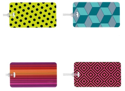 Luggage Tag - Go Travel Tag Me Patterned - Αξεσουάρ ταξιδίου
