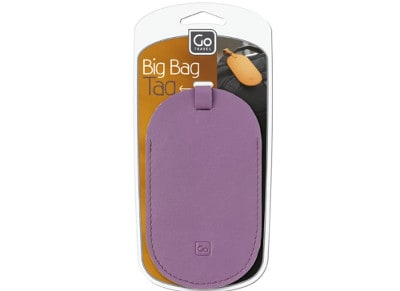 Ετικέτα Αποσκευών - Big Bag Tag Go Travel Μωβ gadgets   funky stuff   αξεσουάρ ταξιδίου