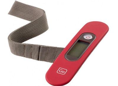 Ψηφιακή Ζυγαριά Αποσκευών - Digi Scales Go Travel Κόκκινο