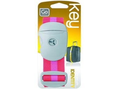 Ιμάντας Κλειδώματος Αποσκευών 40mm - Key Strap Go Travel Ροζ gadgets   funky stuff   αξεσουάρ ταξιδίου