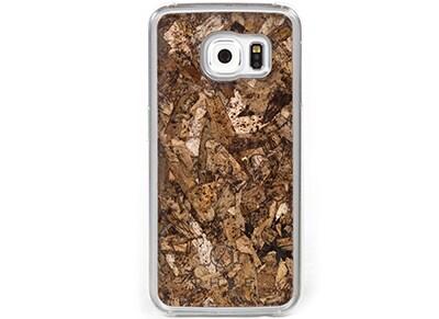 Θήκη Samsung Galaxy S6 - Phee Samsung Cover Case Διαφανές/Καφέ τηλεφωνία   tablets   αξεσουάρ κινητών   θήκες