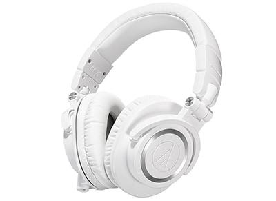 Ακουστικά κεφαλής  Audio Technica ATH-M50xWH Λευκό