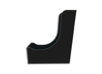 Θήκη Περιοδικών Πλαστική Μαύρη