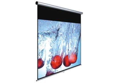 Οθόνη Προβολής - Black & Red - Τοίχου Χειροκίνητη - 150x150cm