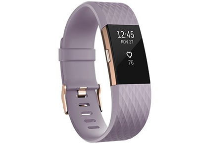 FitBit Charge 2 Rose Gold Small - Activity Tracker