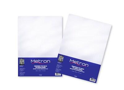 Εξώφυλλο Βιβλιοδεσίας Πλαστικό 140 micron -Metron - Διαφανές