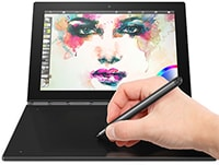 "Lenovo Yoga Book X90F Android - Tablet/Laptop 10.1"" 64GB Μαύρο"