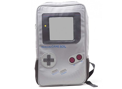 Τσάντα Bioworld Nintendo Game Boy Backpack - Γκρι