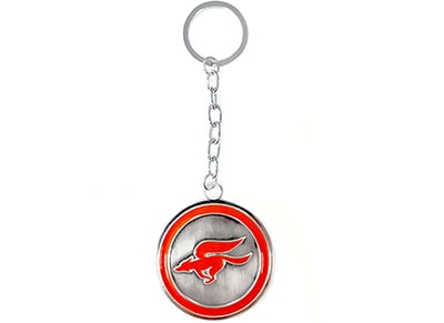 Μπρελόκ Bioworld Nintendo Star Fox Zero Metal Keychain