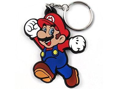 Μπρελόκ Bioworld Nintendo Mario Rubber Keychain