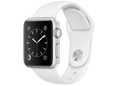 Apple Watch Series 1 42mm Aluminium Silver Sport Band Λευκό