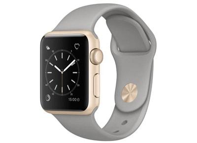 Apple Watch Series 1 - 38mm Aluminium Gold - Sport Band Γκρι