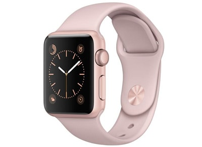Apple Watch Series 1 - 38mm Aluminium Rose Gold - Sport Band Ροζ