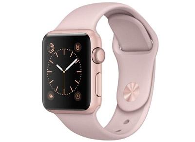 Apple Watch Series 1 - 38mm Aluminium Rose Gold - Sport Band Ροζ