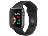 Apple Watch Series 1 42mm Aluminium Space Gray Sport Band Μαύρο