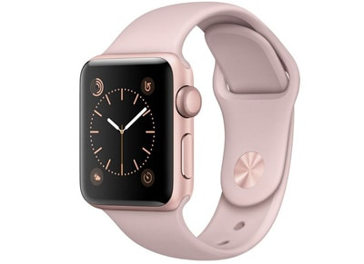 Apple Watch Series 2 - 38mm Aluminium Rose Gold - Sport Band Ροζ