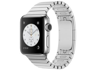 Apple Watch Series 2 - 38mm Stainless Steel - Link Bracelet Ασημί
