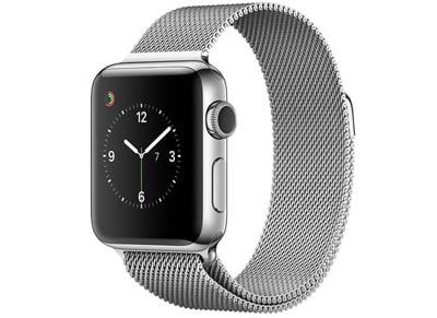 Apple Watch Series 2 - 38mm Stainless Steel - Milanese Loop Ασημί