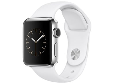 Apple Watch Series 2 - 38mm Stainless Steel - Sport Band Λευκό