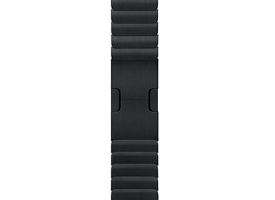Apple Watch Series 2 38mm Link Bracelet Band - Space Black wearables  drones   hitech   λουράκια wearables