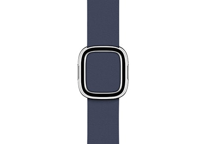 Apple Watch Series 2 38mm Modern Buckle Band (Large) - Midnight Blue