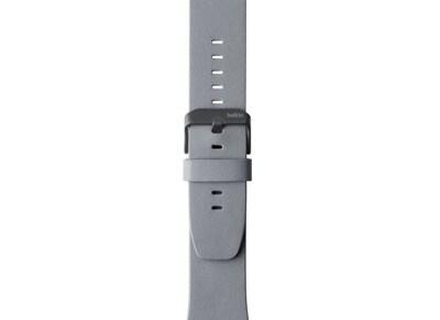 Apple Watch 38mm - Belkin Classic Leather Band Γκρι