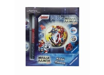 Λαμπάδα 3D Puzzle  Ravensburger Μπαλαλάμπα Τρέλα Avengers (11798) - 72 κομμάτια