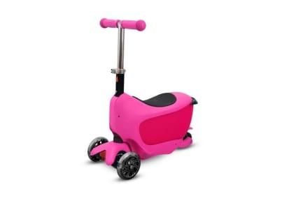Τρίκυκλο Πατίνι με Κάθισμα BPC 4312 Ροζ - Buddy Toys