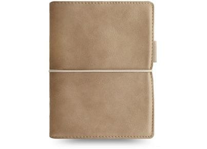Οrganiser Σημειωματάριο Filofax Pocket Domino Soft Fawn