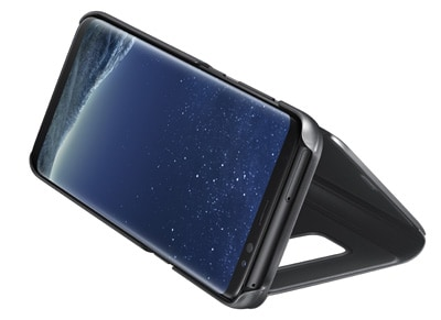 Θήκη Samsung Galaxy S8 - Samsung Clear View Cover Μαύρο τηλεφωνία   tablets   αξεσουάρ κινητών   θήκες