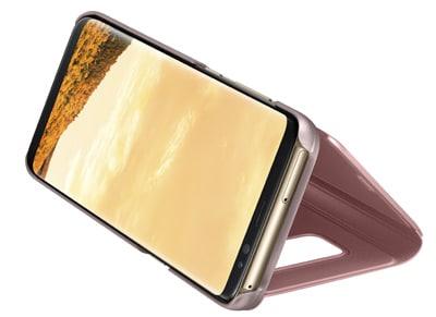 Θήκη Samsung Galaxy S8 - Samsung Clear View Cover Ροζ τηλεφωνία   tablets   αξεσουάρ κινητών   θήκες