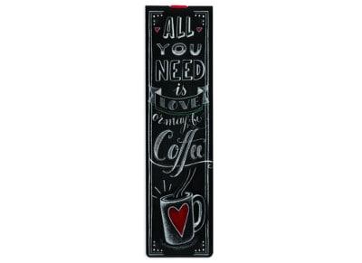Σελιδοδείκτης May Be Coffee με Λάστιχο - Legami Booklovers Bookmark