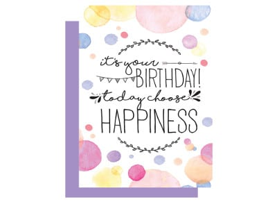 Ευχετήρια Κάρτα LEGAMI Happiness Greeting Card Happiness