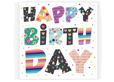 Ευχετήρια Κάρτα LEGAMI Greeting Card Happy Birthday Decorations