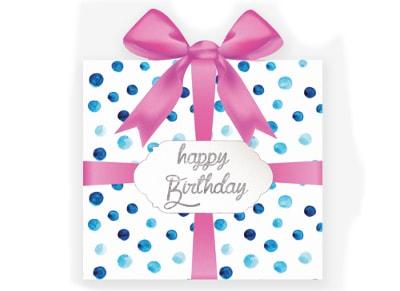 Ευχετήρια Κάρτα LEGAMI Greeting Card Happy Birthday Present