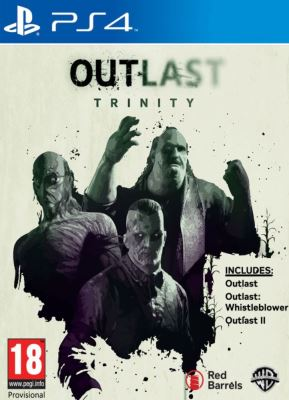 Outlast Trinity - PS4 Game