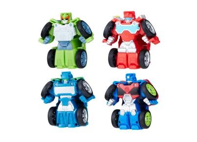 Transformers Rescue Bot Flipracer - 4 Σχέδια - 1 Τεμάχιο