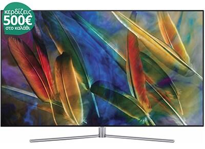 """Τηλεόραση Samsung QE65Q7F 65"""" Smart QLED Ultra HD"""