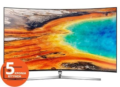 """Τηλεόραση Samsung UE65MU9002TXXH 65"""" Curved Smart LED Ultra HD"""
