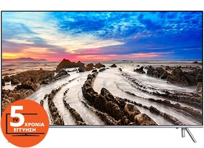 "Τηλεόραση Samsung UE65MU7002TXXH 65"" Smart LED Ultra HD"
