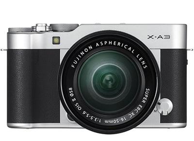 Compact Φωτογραφική Fujifilm X-A3 16-50mm Kit Ασημί