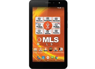 """MLS Seven 3G - Tablet 7"""" 3G 8GB Μαύρο"""