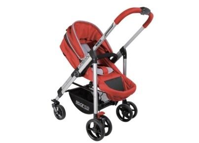 Βρεφικό Kαρότσι Sparco Urban Stroller Red